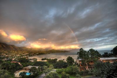Kaneohe Bay Rainbow